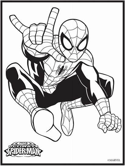 Marvel Coloring Pages Superhero Printable Drawing Sheets