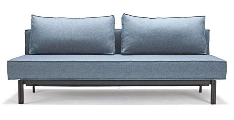 canapé lit 140 cm innovation living canape lit design sly bleu convertible