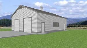 workshop 36 x 50 garage rv garage plans With 36 x 50 pole barn