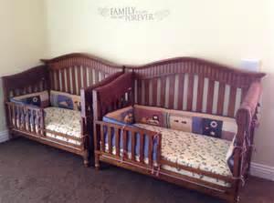 for our boys baby italia convertible cribs in cinnamon eddie bauer builder bedding