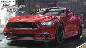 Need For Speed Heat - '15 Ford Mustang GT - Customization, Review, Top Speed - YouTube