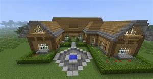 Minecraft belle maison en bois