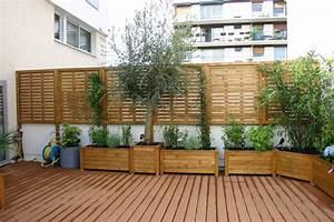 Jardinière Brise Vue : jardiniere pour terrasse fashion designs ~ Premium-room.com Idées de Décoration