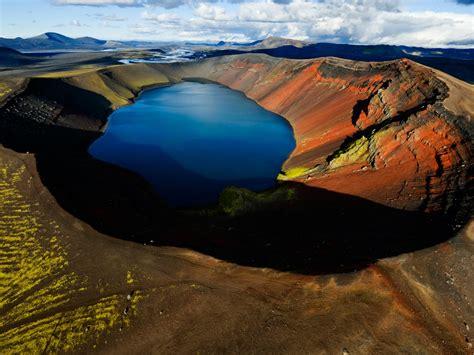 Crater Volcano Lake Landscapes Ultra Hd Wallpaper 244556 ...