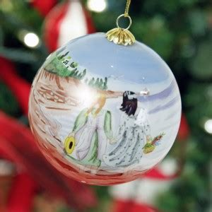 3 quot anne of green gables glass ball ornament perfect for