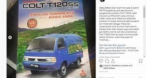 Mengenang Suzuki Carry Dan Mitsubishi Colt T120ss Yang