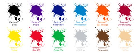what is a spot color ink coatings 187 flamingo label