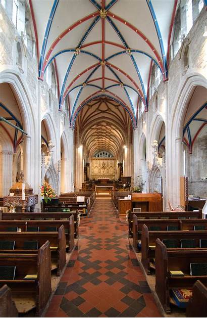 Church St Devon Mary Ottery Churches Interior