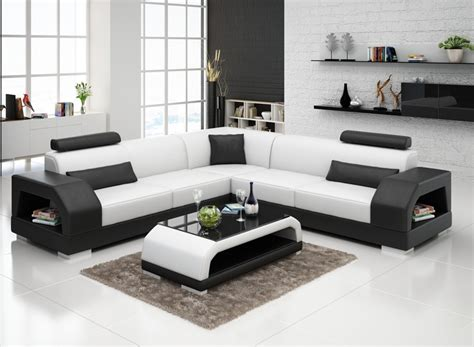 Popular Modern Furniture Sofa Leather Custom Sofa Set