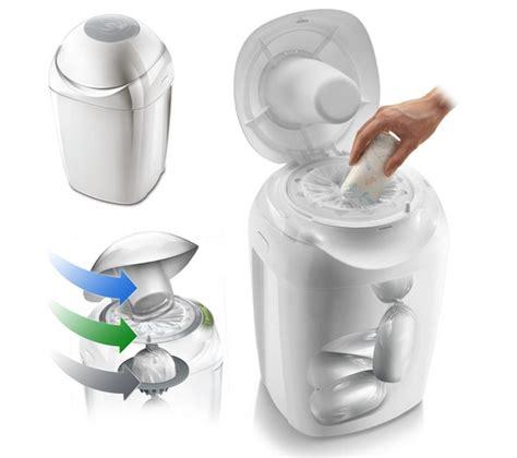 poubelle chambre bébé la poubelle à couches tommee tippee utile ou non