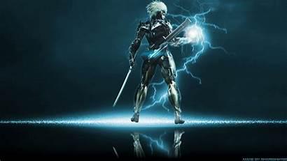 Gear Raiden Metal Solid Rising Desktop Background