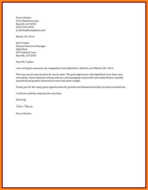 resign letter  month notice letter flat