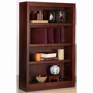 Concepts, In, Wood, 4, -, Shelf, Bookcase