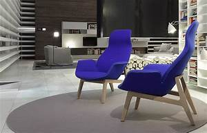 The High-backed Chair  Lounge Ventura - Poliform