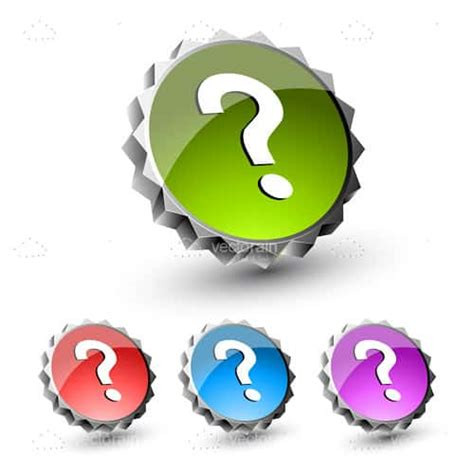 colorful icon pack colourful question icon pack vectorjunky free
