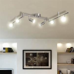 Spot Orientable Plafond : luminaire spot plafond ~ Premium-room.com Idées de Décoration