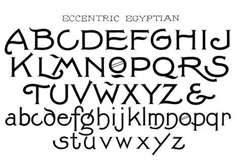 cool font alphabets
