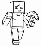 Coloring Minecraft Creeper Printable Popular Toddlers sketch template