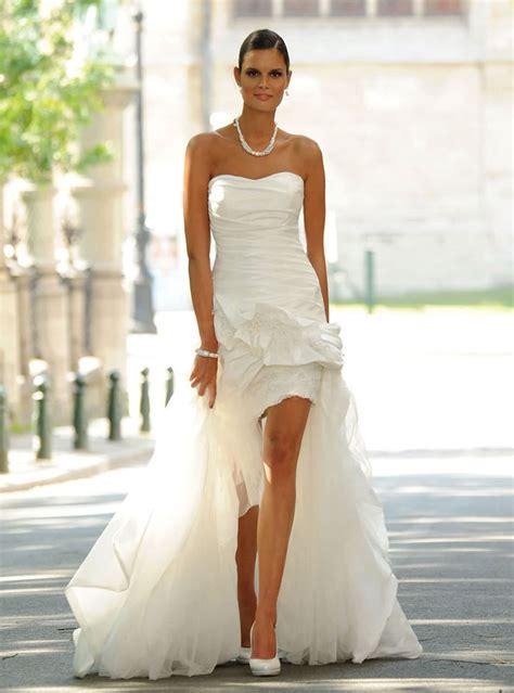 ordinaire robe de mariee moderne et originale 10 robe de mari 233 e courte devant longue derri 232 re