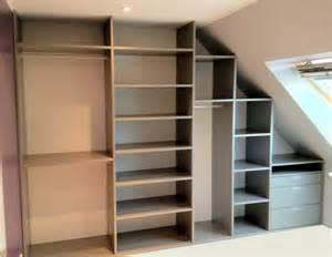 Barre Escalier Castorama by Comment Construire Un Dressing Pour Pas Cher Plan De