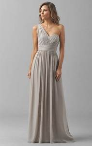 20 one shoulder bridesmaid dresses for fall weddings With fall maxi dress for wedding