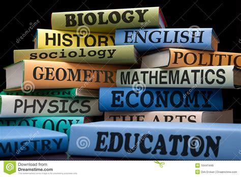 education school university books college classes stock