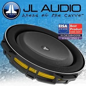 Subwoofer Auto Flach : jl audio tw5 serie 13tw5 3 34cm subwoofer extrem flach ~ Jslefanu.com Haus und Dekorationen