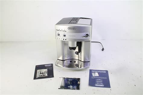 delonghi automatic cappuccino delonghi esam3300 magnifica automatic espresso coffee machine with frother ebay