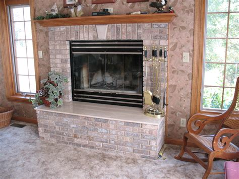 Decoration Fireplace Designs With Brick Stone Accent Wall
