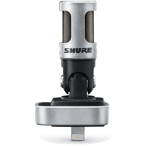 iphone microphone shure mv88 motiv stereo condenser microphone for iphone