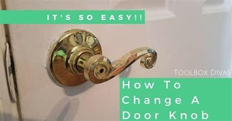 update  boring door knob   minutes hometalk