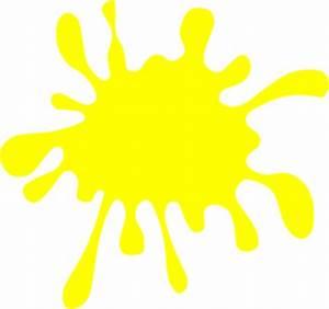 Yellow Splat Clip Art at Clker.com - vector clip art ...