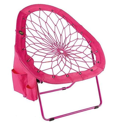chair bunjo bungee lounger folding patio furniture cing hammock seat net chairs