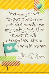 Quotes About Kind Words
