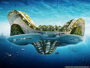 Wohnen In Der Zukunft : eine stadt im meer so wohnen wir morgen berliner ~ Frokenaadalensverden.com Haus und Dekorationen