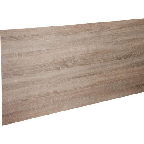 credence stratifié cuisine crédence stratifié effet chêne havane perle h 64 cm x l