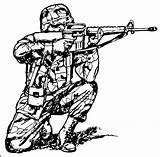 Military Coloring Gun Getdrawings sketch template
