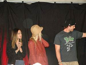 Malese Jow, Claire Holt & Nate Buzolic | Flickr - Photo ...