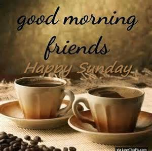 morning friends happy sunday pictures photos and images for