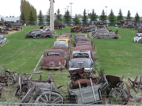Old Rusty  Ee  Cars Ee   And Agricultural Equipment Flickr P O