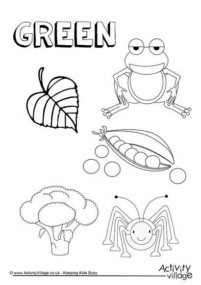 Pages Colouring Coloring Things Preschool Worksheets Colour