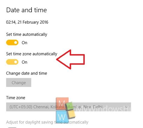 will my iphone time change automatically how to set time zone automatically in windows 10