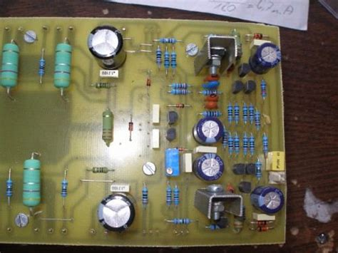 leach  watt power amplifier circuit sc sa pcb