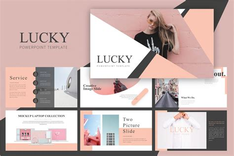 Free Feminine Style Slides Powerpoint Template - DesignHooks