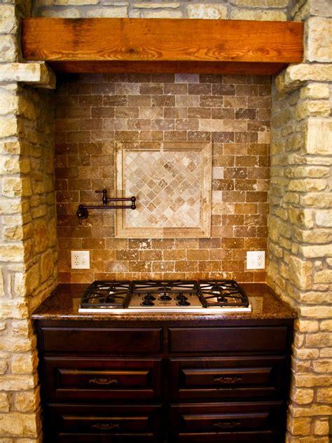 Kitchen Range Backsplash by World Kitchen Range With Brick Backsplash And