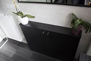 meuble faible profondeur meuble cuisine faible profondeur With porte d entrée pvc avec meuble salle de bain ikea faible profondeur