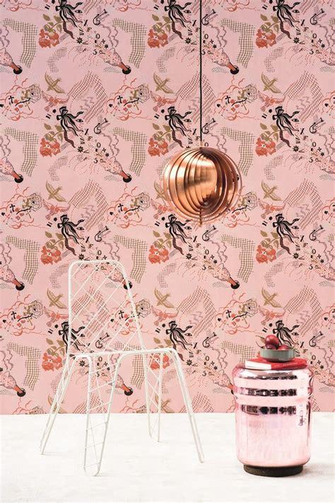 champagne wallpaper la maison pierre frey wallpaper