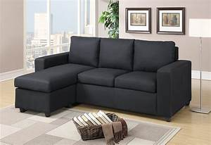 F7490 blue gray 2 pcs sectional sofa set by poundex for Sectional sofa names