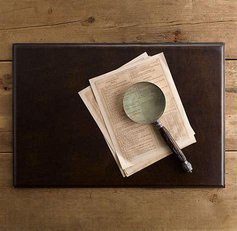 leather desk blotter restoration hardware restoration hardware desk blotter b a s e m e n t d e