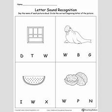 Beginning Sound Of The Letter W Myteachingstationcom